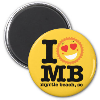 I (Heart) MB Magnet