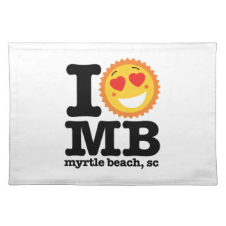 I (Heart) MB Placemat