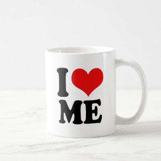 I Heart Me Basic White Mug
