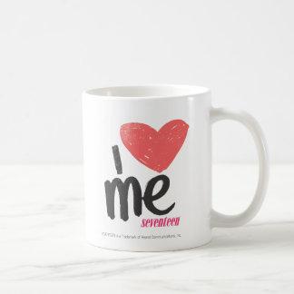 I Heart Me Pink Basic White Mug