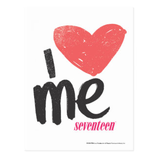 I Heart Me Pink Postcard