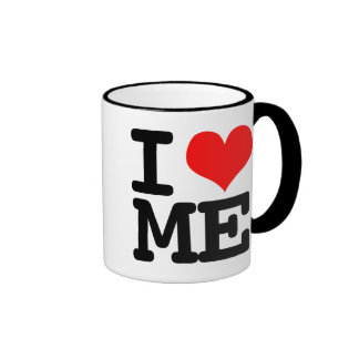 I Heart Me Ringer Mug