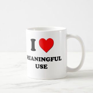 I Heart Meaningful Use Coffee Mug