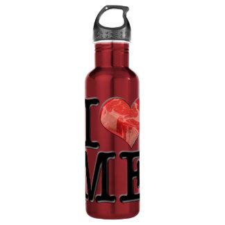 I (heart) MEat 710 Ml Water Bottle