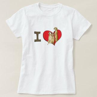 I heart meerkats T-Shirt