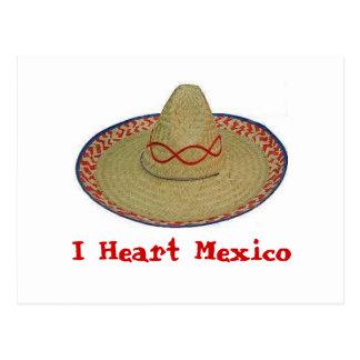 I Heart Mexico Postcard