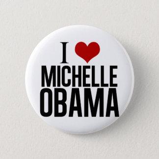 I Heart Michelle Obama 6 Cm Round Badge