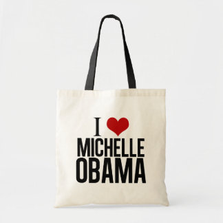 I Heart Michelle Obama Tote Bag