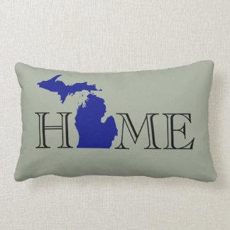 I heart Michigan Lumbar Pillow