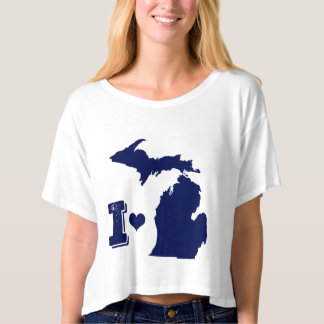 I heart Michigan T-Shirt