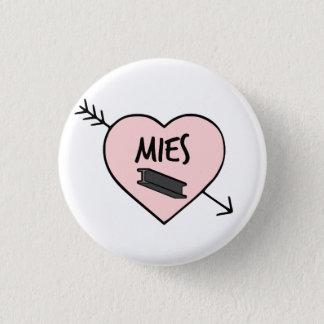 I Heart Mies van der Rohe Pin