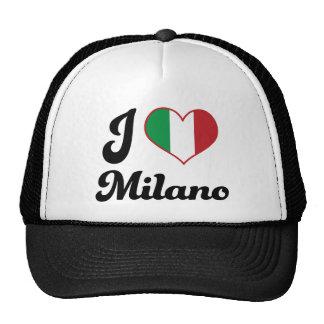 I Heart Milano Italy (Love) Trucker Hats