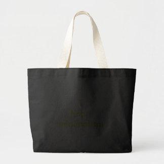 I heart minimalism jumbo tote bag