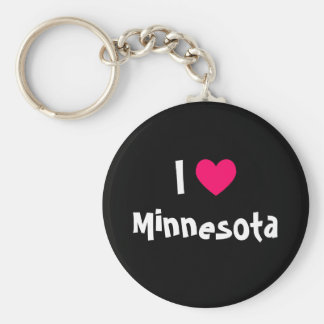 I Heart Minnesota Key Ring