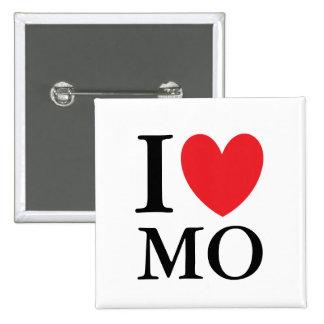 I Heart Missouri 15 Cm Square Badge