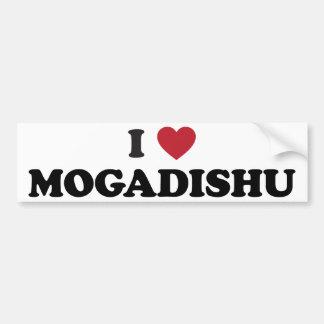 I Heart Mogadishu Somalia Bumper Sticker