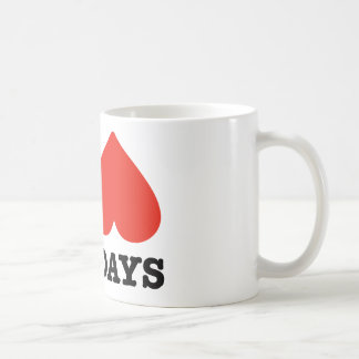 I heart mondays coffee mug
