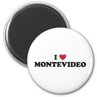 I Heart Montevideo Uruguay Magnet