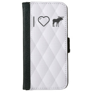 I Heart Mooses iPhone 6 Wallet Case