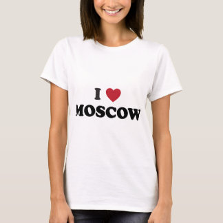I Heart Moscow Russia T-Shirt