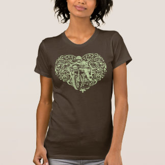 I heart motorcycles T-Shirt
