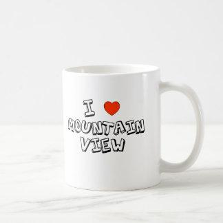 I Heart Mountain View Mugs