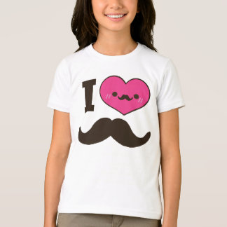 I Heart Moustaches T-Shirt