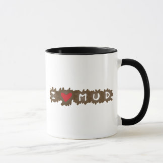 I Heart Mud Mug