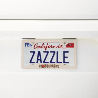 I Heart Muddin Licence Plate Frame