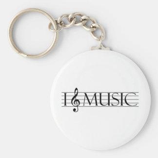 i heart music 2 keychains