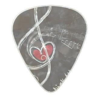 I HEART MUSIC/Professional Custom Guitar Pick