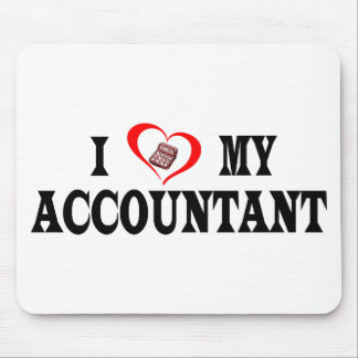 I heart my ACCOUNTANT Mouse Pad