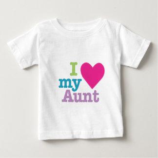 I heart my aunt kids t-shirt