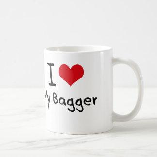 I heart My Bagger Coffee Mug