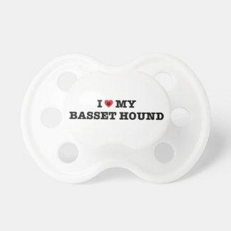 I Heart My Basset Hound Dummy