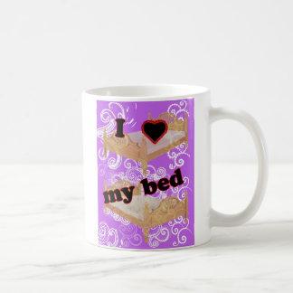 I Heart My Bed Coffee Mug