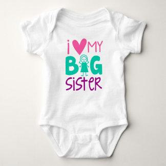I Heart My Big Sister Infant Creeper