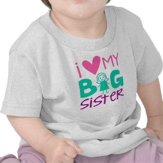 I Heart My Big Sister Infant T-Shirt