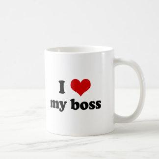 I Heart My Boss Mug