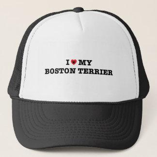 I Heart My Boston Terrier Trucker Hat