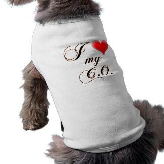 """I """"heart"""" My C.O. Dog Shirts"""