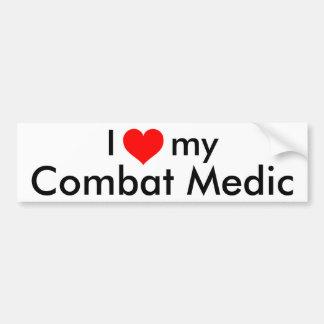 I heart my Combat Medic Bumper Sticker