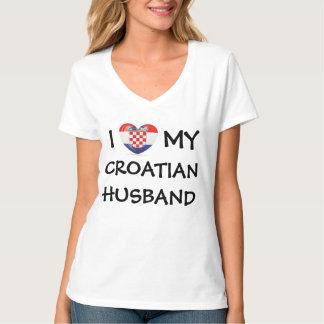 I Heart My Croatian Husband T-shirts