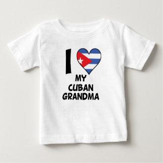 I Heart My Cuban Grandma Baby T-Shirt
