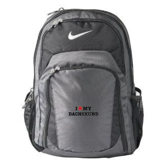 I Heart My Dachshund Nike Backpack