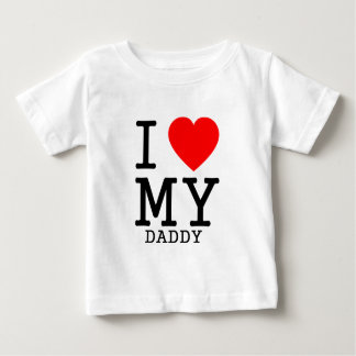 I heart MY daddy Baby T-Shirt