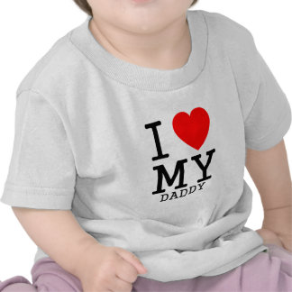 I heart MY daddy Tee Shirt