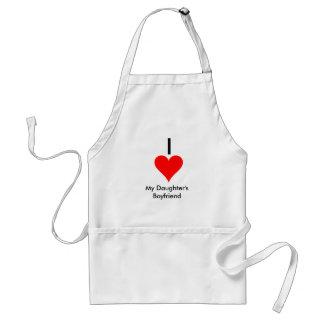 i heart my daughters boyfriend standard apron