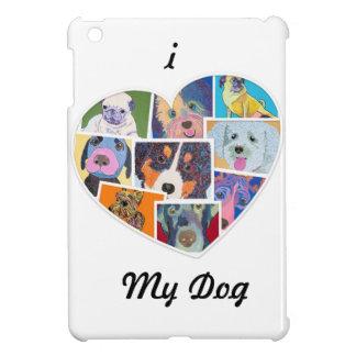 I heart my dog i Pad Case Cover For The iPad Mini