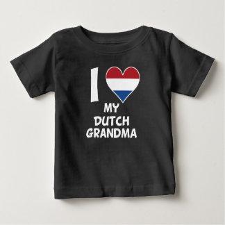 I Heart My Dutch Grandma Baby T-Shirt